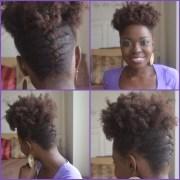 cool natural hair updo
