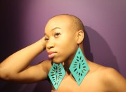 nappy rutz earrings natural haired