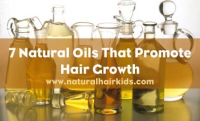 7 natural oils that promote hair growth