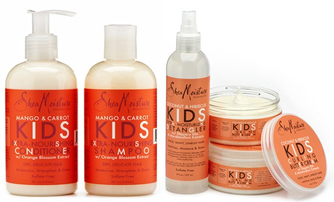 Bilderesultat for sheamoisture kids