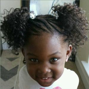 33 Cute Natural Hairstyles for Kids , Natural Hair Kids