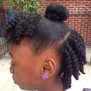 Wondrous 33 Cute Natural Hairstyles For Kids Natural Hair Kids Schematic Wiring Diagrams Amerangerunnerswayorg