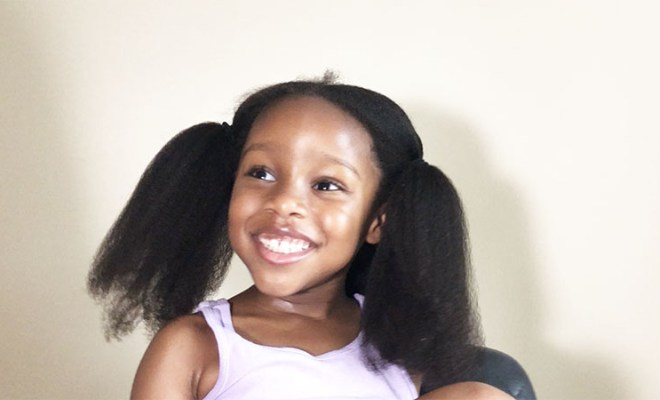 how to safely blow dry your child's natural hair