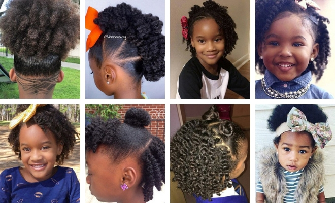 33 Cute Natural Hairstyles For Kids Natural Hair Kids