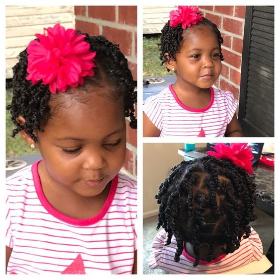 short hairstyles for kids twists braids and ponytails