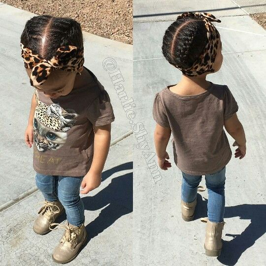 Cornrows With Headbands Natural Hair Kids