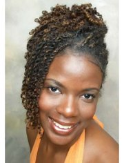 natural two strand twist