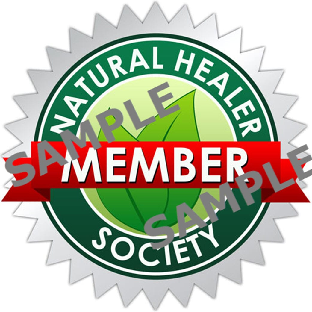 Natural Healer Society SAMPLE Seal
