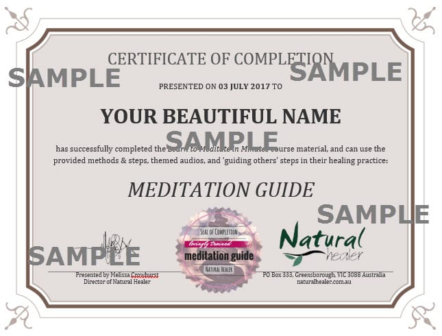 57 Learn To Meditate Guide Others Course Certification Available