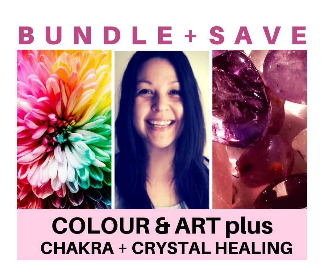 Colour, Chakra, and Crystal Healing Course Bundle