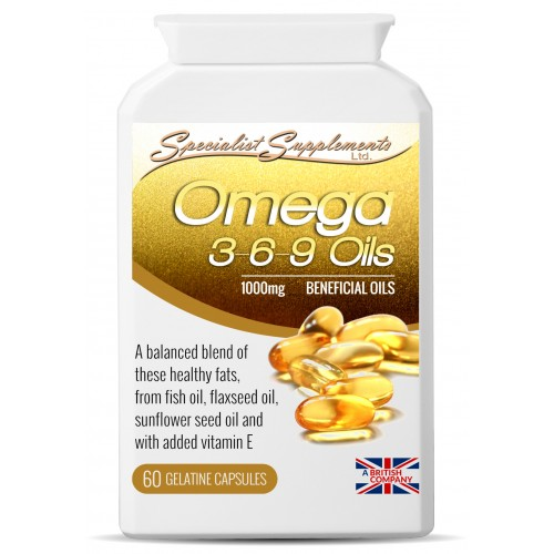 Omega 3 6 9 60 Gel Capsules Natural Healing And Well Being