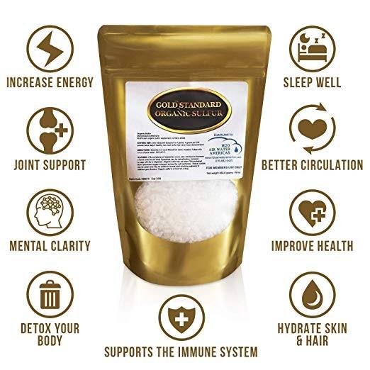 Gold Standard Organic Sulfur | Natural Healing Room