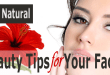 3 All Natural Beauty Tips for your face
