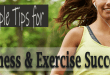 Simple Tips for Fitness and Exercise Success