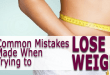5 Common Mistakes Made When Trying to Lose Weight
