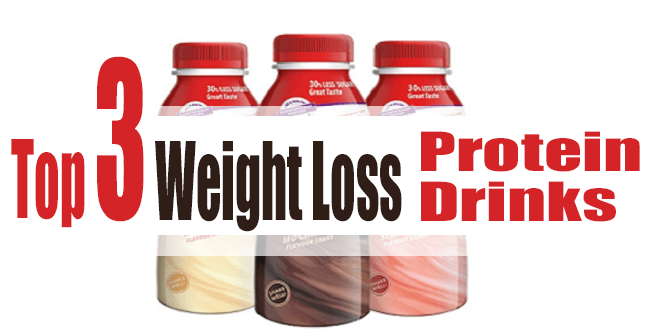 Top 3 Weight Loss Protein Drinks