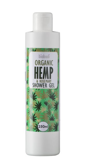 Biobodi Organic Hemp & Rosemary Shower Gel