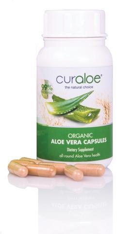 Curaloe AloeOrganic Capsules