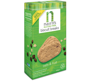 Nairns Gluten Free Oat & Fruit Biscuits