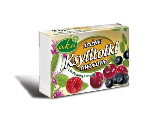 Ksylitolki fruit candies 40g
