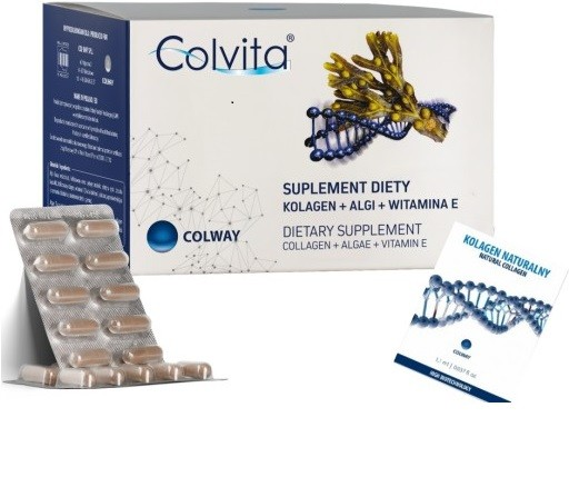 Colvita Natural Collagen+Algae+Vitamin E 60 capsules