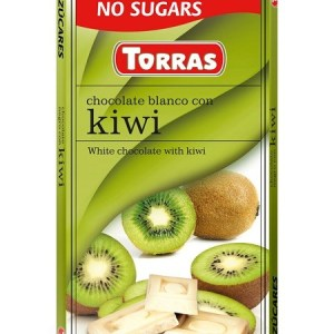 Sugar Free White Chocolate with Kiwi (75g)