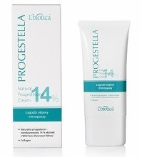 L'Biotic PROGESTELLA Natural Progesterone Cream 14% Menopause Aid 50 g tube