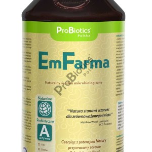 EmFarma™ Active Cultures, Soil and plant conditioning, neutralizing odors, higienization and biodisinfection of premises.