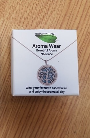 "Aromatherapy Necklace model nr1 ""Tree"""