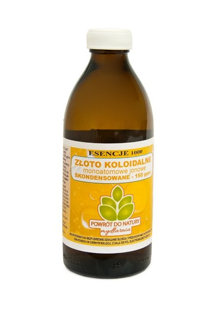Colloidal Gold Monoatomic Ion Concentrated 150ppm 300ml