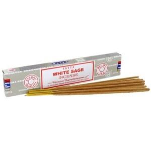 White Sage Incense 15g pack, SATYA