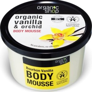Organic Shop Pink Lychee and 5 Oils Body Cream 250ml