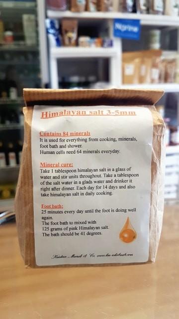 Himalayan Salt 3-5mm, 500g