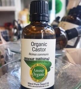 Castor Oil, Organic Ricinus Communis, 100ml