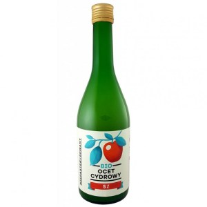 BIO Apple Vinegar 5%, 250ml, natural, eco-friendly