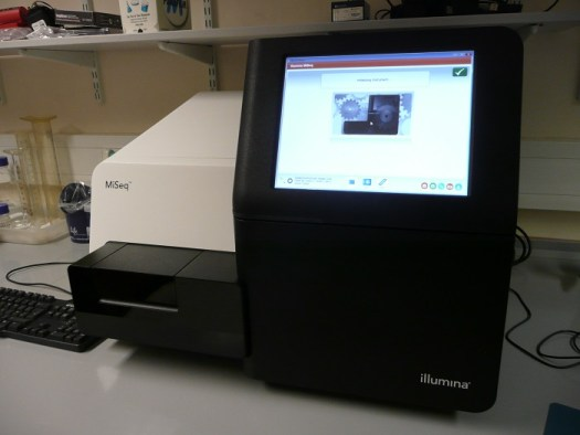 We are using the Illumina MiSeq machine to sequence The Microverse samples