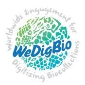 Image of the WeDigBio logo