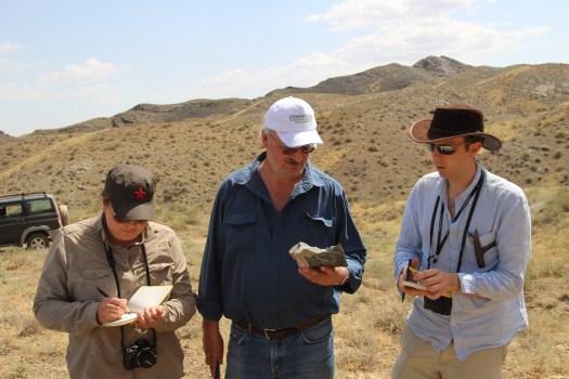 Fieldwork Uzbekistan