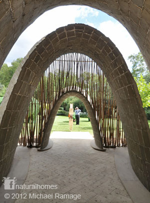 The Catenary Arch used by Natural Builders