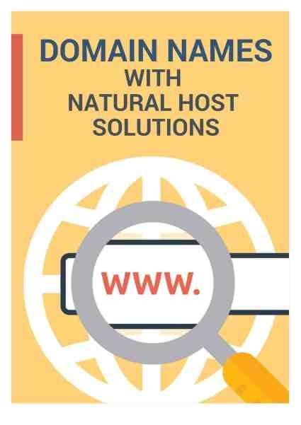 domain names brochure image