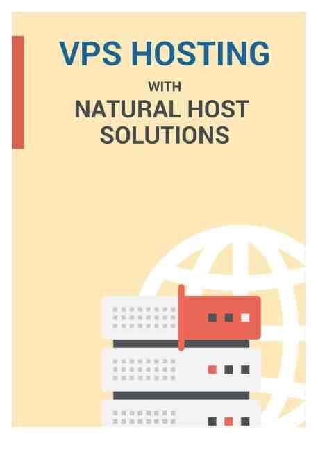 vps hosting brochure image