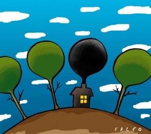 Quanta CO2 produce una casa  Wieviel CO2 produziert ein Haus  NaturaliaBLOG