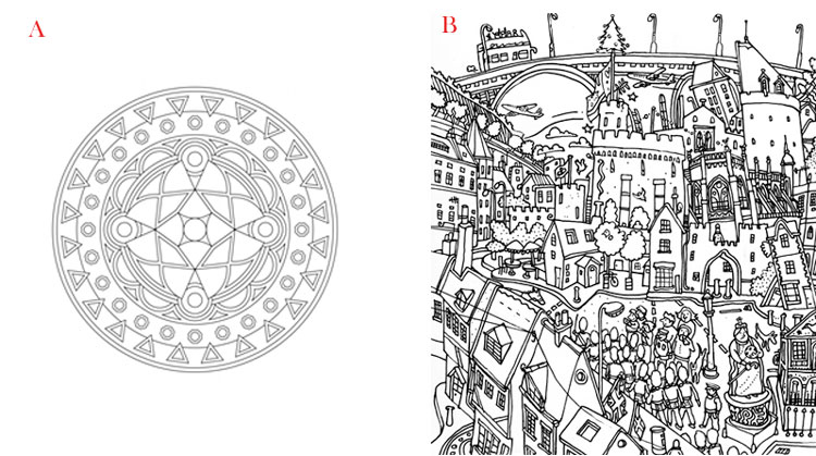 Stressed? Crack Open a Mandala Coloring Book (With Free