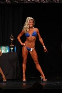Amber Blom Overall Open Bikini Champion
