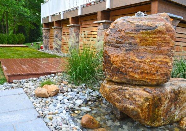 phased design - breaking landscaping