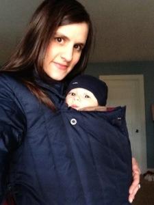 Babywearing in the Winter - A Little Bit of All of It