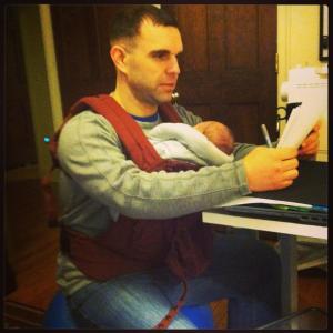 Ergo - Michael, 1 week old Photo Credit: Lori Horst
