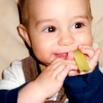 Solid Foods and Physical Milestones