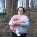 Babywearing with a Pouch