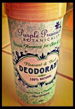 It's Naturally Pure Purple Prairie Botanicals Deodorant